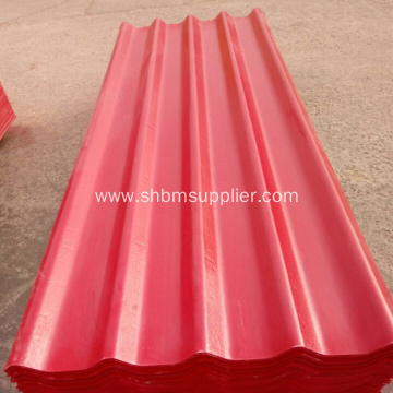 Waterproof Heat Insulation Corrugated MgO Roof Tile